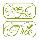 Sugar free design Royalty Free Stock Image
