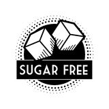 Sugar free design. Over white background, vector illustration Stock Image