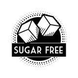 Sugar free design Stock Image