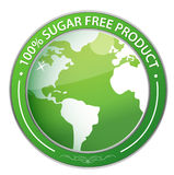 Sugar Free Label illustration Stock Photo