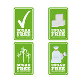 Sugar free label Stock Photography