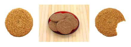 Sugar free oatmeal cookies Royalty Free Stock Photos