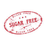 Sugar free rubber stamp Royalty Free Stock Images