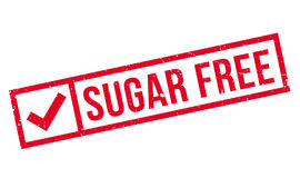 Sugar Free rubber stamp Stock Image