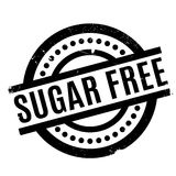 Sugar Free rubber stamp Royalty Free Stock Image