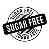Sugar Free rubber stamp Stock Images