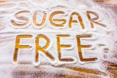 Sugar free sign Stock Photo