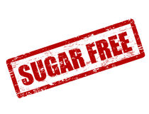 Sugar free stamp Royalty Free Stock Images
