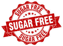 Sugar free stamp. Sign. seal Stock Images