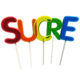 Sugar in French Stock Photo