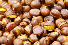 Sugar Fried Chinese chestnut Stock Photography