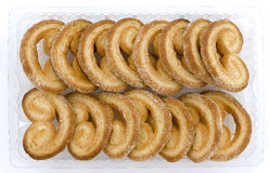 Sugar glazed cookies Royalty Free Stock Images