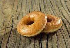 Sugar glazed donut Royalty Free Stock Photos
