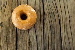 Sugar glazed donut Stock Image