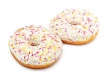 Sugar Glazed Donuts Stock Image