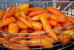 Sugar Glazed Sweet Potatoes Stock Images
