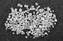Sugar grains Royalty Free Stock Image