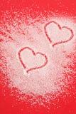 Sugar hearts Royalty Free Stock Photo