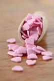 Sugar hearts Royalty Free Stock Photos