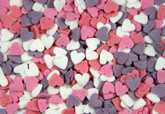 Sugar Hearts Royalty Free Stock Photo