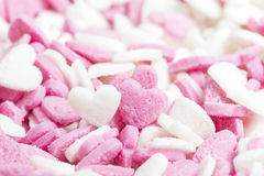 Sugar hearts Stock Photos