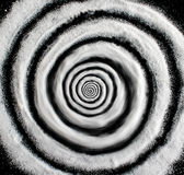 Sugar hypnosis spiral Stock Photos