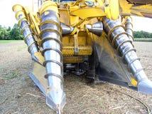 Sugar Industry Sugarcane Harvest Scene in Ingham Queensland Australië royalty-vrije stock foto's