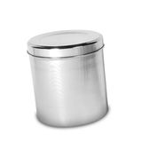 Sugar Jar with Clear Lid Stock Photography