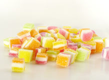 Sugar jelly Stock Images