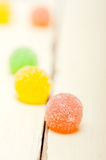 Sugar jelly fruit candy Stock Photo