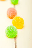 Sugar jelly fruit candy Royalty Free Stock Images