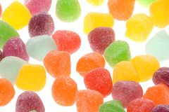 Sugar Jelly Macro Royalty Free Stock Images