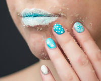Sugar lips Royalty Free Stock Images