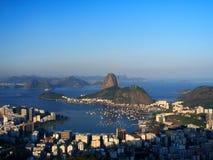 Sugar Loaf. And Guanabara Bay - Rio de Janeiro, Brazil Royalty Free Stock Photos