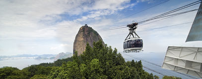 Sugar Loaf-Berg - Brasilien Stockfoto