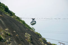 Sugar Loaf Cable car Royalty Free Stock Images