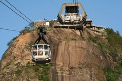 Sugar Loaf cable cars Stock Photo