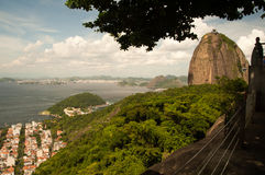 Sugar Loaf mountain Stock Photography