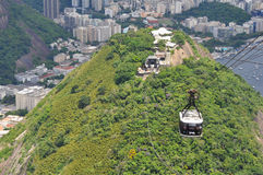 Sugar Loaf Mountain Cable Car Royalty Free Stock Photo