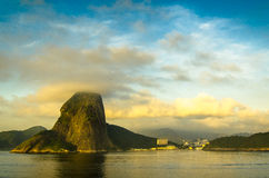 Sugar-loaf.mountain in Rio Royalty Free Stock Images