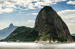 Sugar-loaf-mountain in Rio Stock Photography