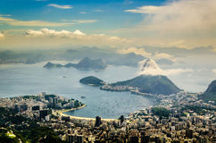 Sugar-loaf-mountain in Rio Stock Photo