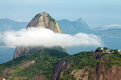 Sugar Loaf Mountain in Rio Royalty Free Stock Images