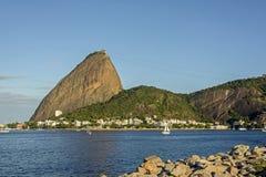 Sugar Loaf. Mountain at Rio de Janeiro Royalty Free Stock Photos