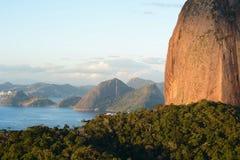 Sugar Loaf Mountain. Sugar Loaf mountain in Rio de Janeiro, Brazil. Pan de Azucar Stock Photo