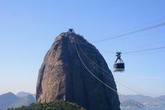 Sugar Loaf Mountain. Sugar Loaf mountain in Rio de Janeiro, Brazil. Pan de Azucar stock image