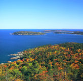 Sugar Loaf Mtn. Overlook - Michigan Royalty Free Stock Photo