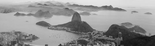 Sugar loaf panorama picture Royalty Free Stock Photo