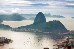 Sugar Loaf in Rio de janeiro Royalty Free Stock Images