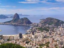 Sugar Loaf - Rio de Janeiro, Brasilien Royaltyfria Bilder